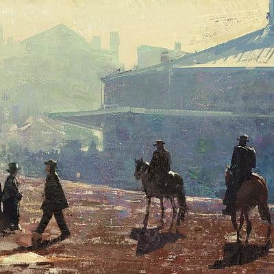 Grzegorz rutkowski street study 1920