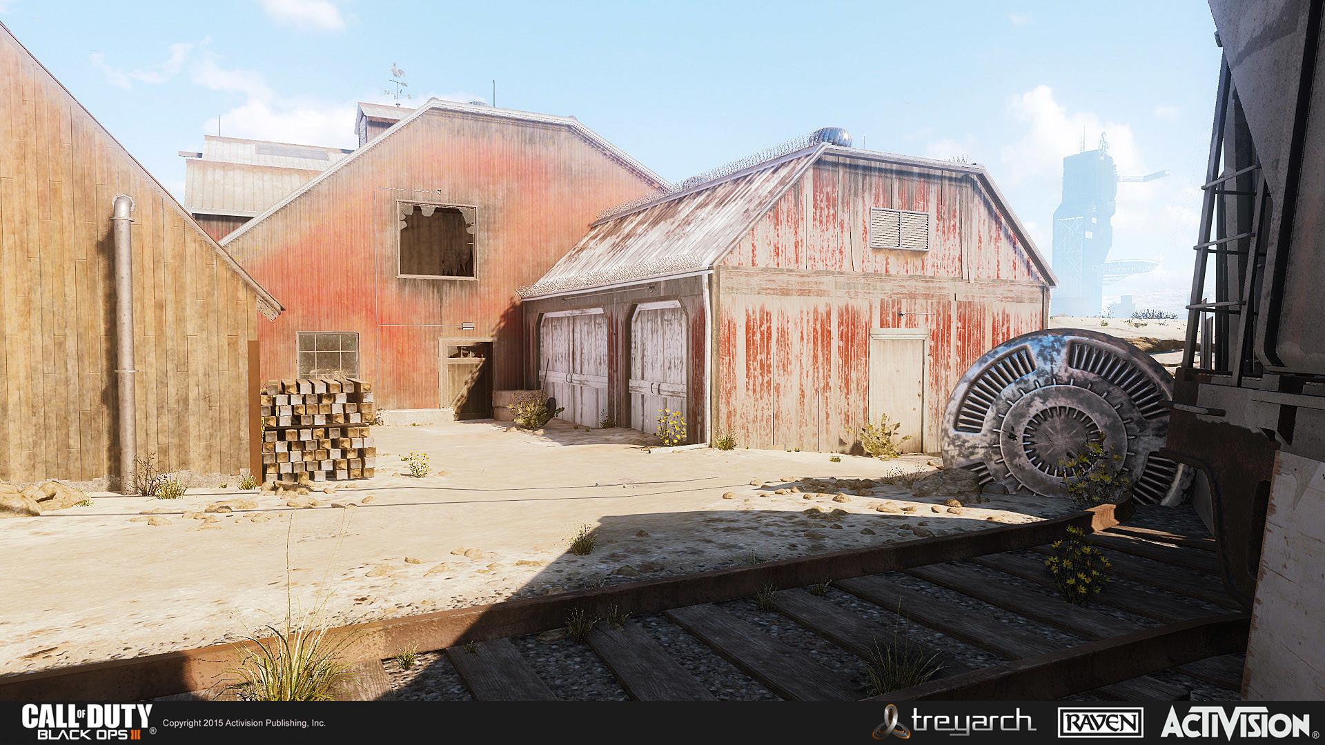 ArtStation - Call of Duty: Black Ops 3 Multiplayer Map - Fringe