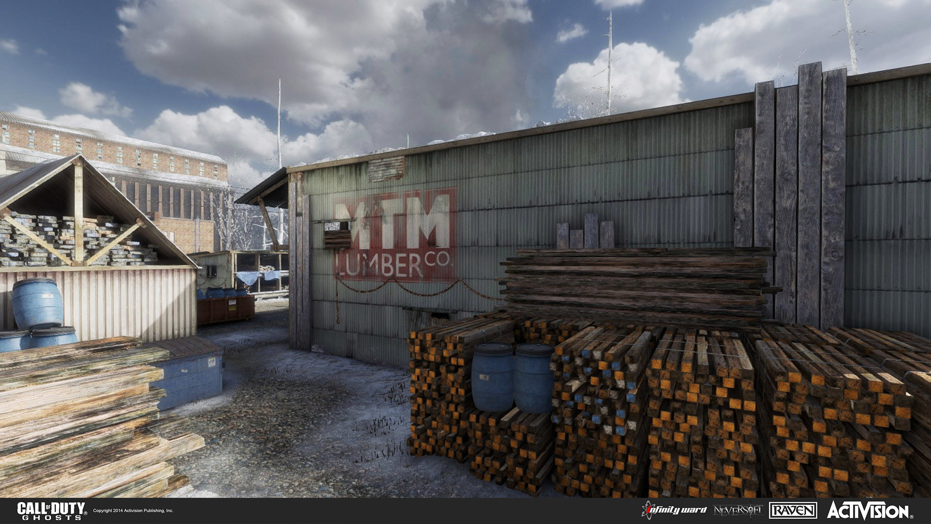 Artstation Call Of Duty Ghost Multiplayer Map Freight Will