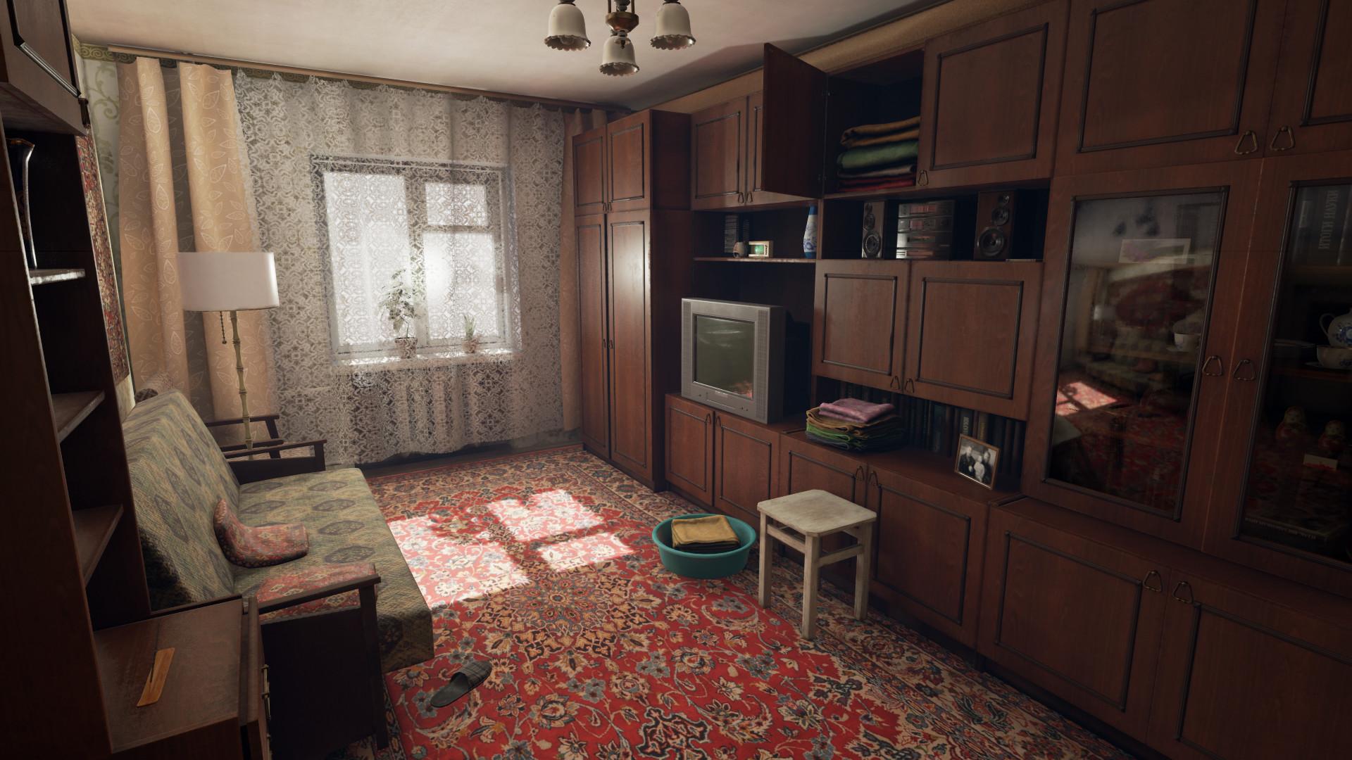 Artstation Russian Living Room Ue4 Dmitry Masaltsev
