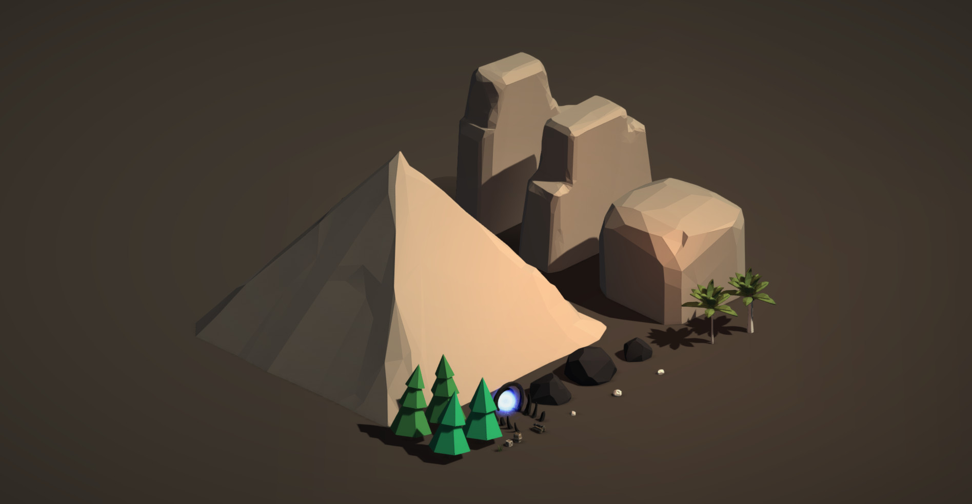 ArtStation - Low Poly Free Pack - Unity Asset Store, Tornado