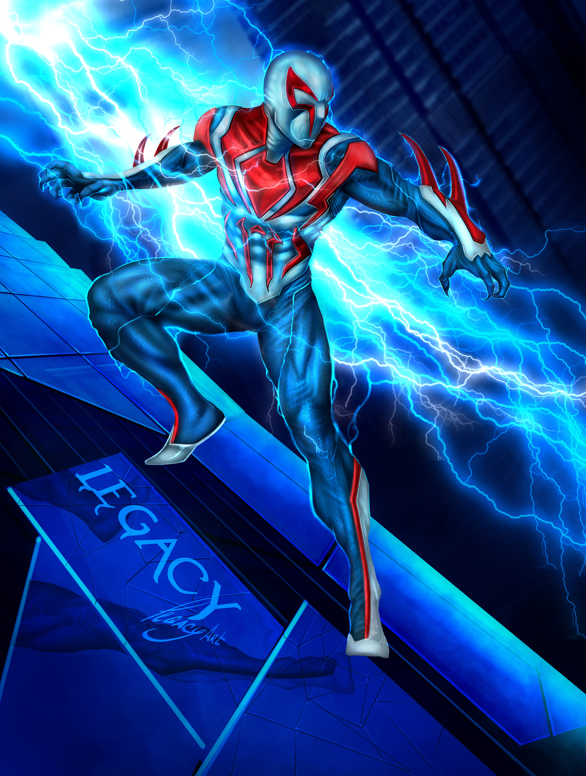 all new all different spider man 2099