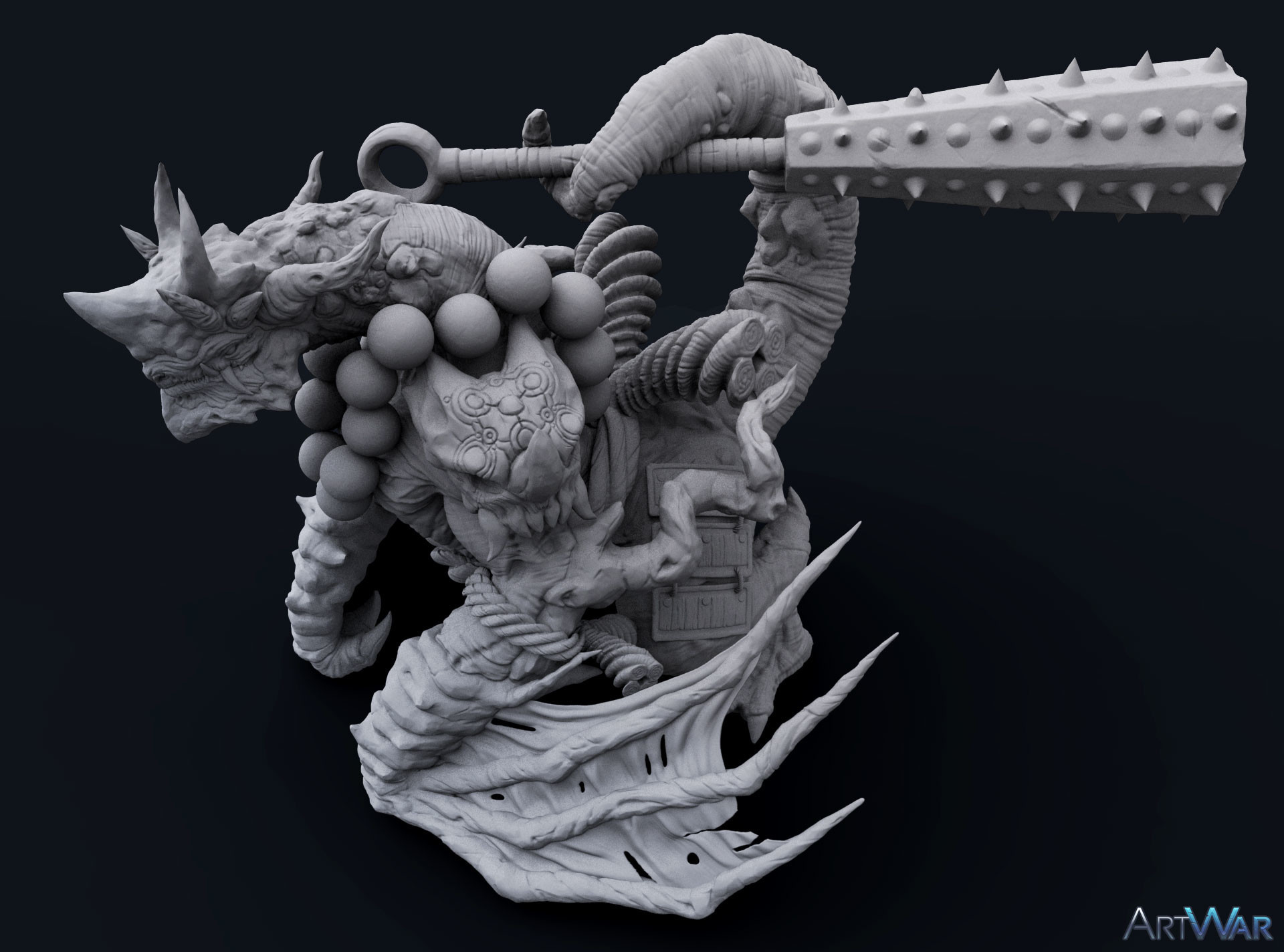 High Poly Detail Shot 04