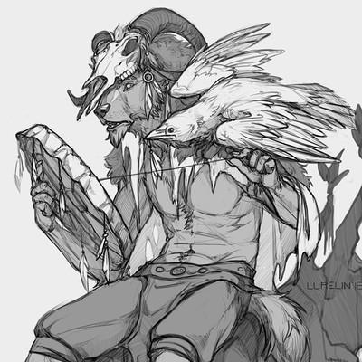 Lurelins art shaman by lurelin da5brxs