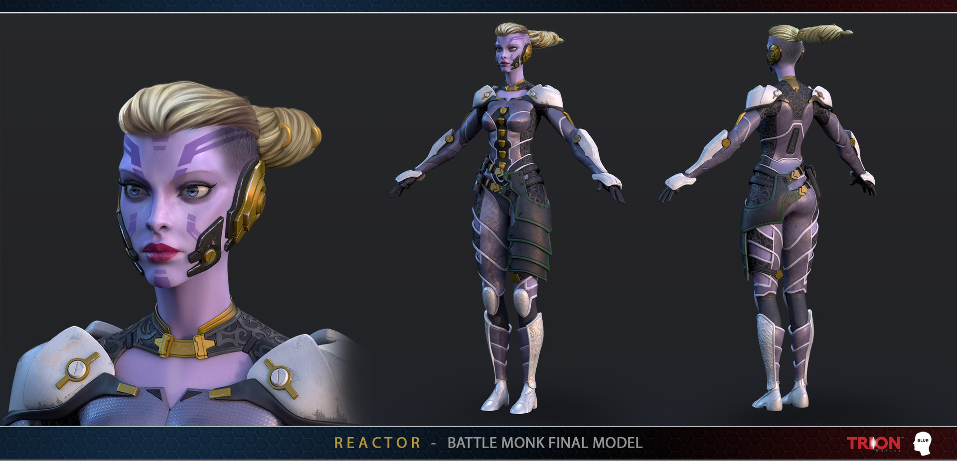Hasan bajramovic blur reactor battlemonk model
