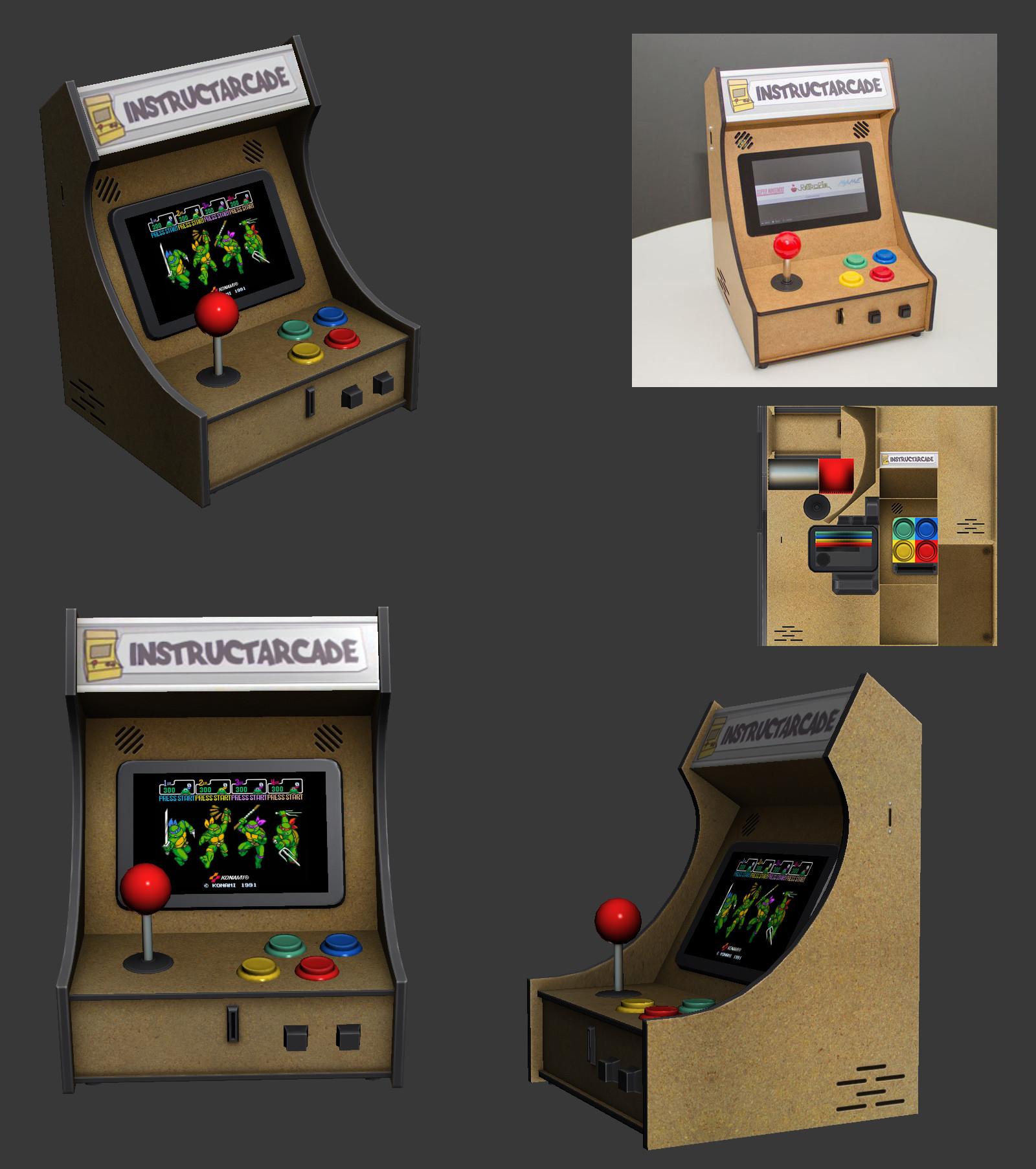 Oziel leal salinas arcade1