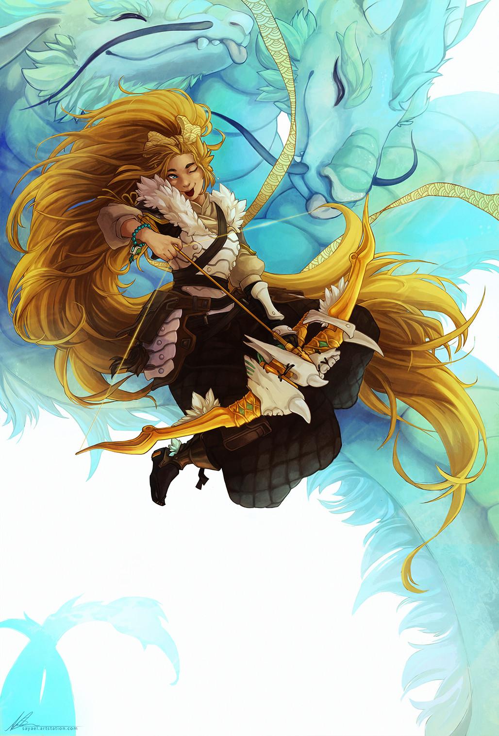 Sayael nu dragonshenpai