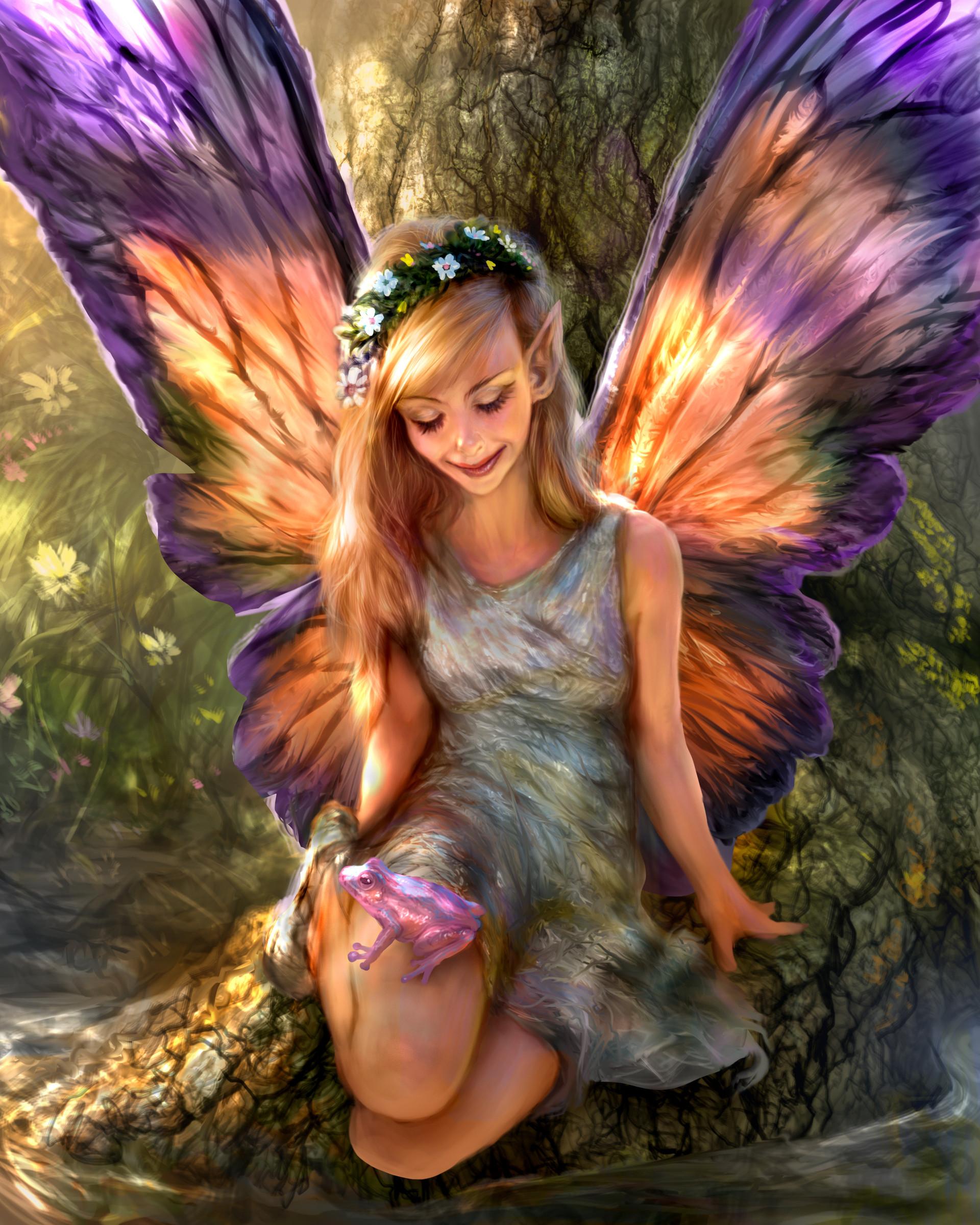 картинки ангел и феи русалки здесь