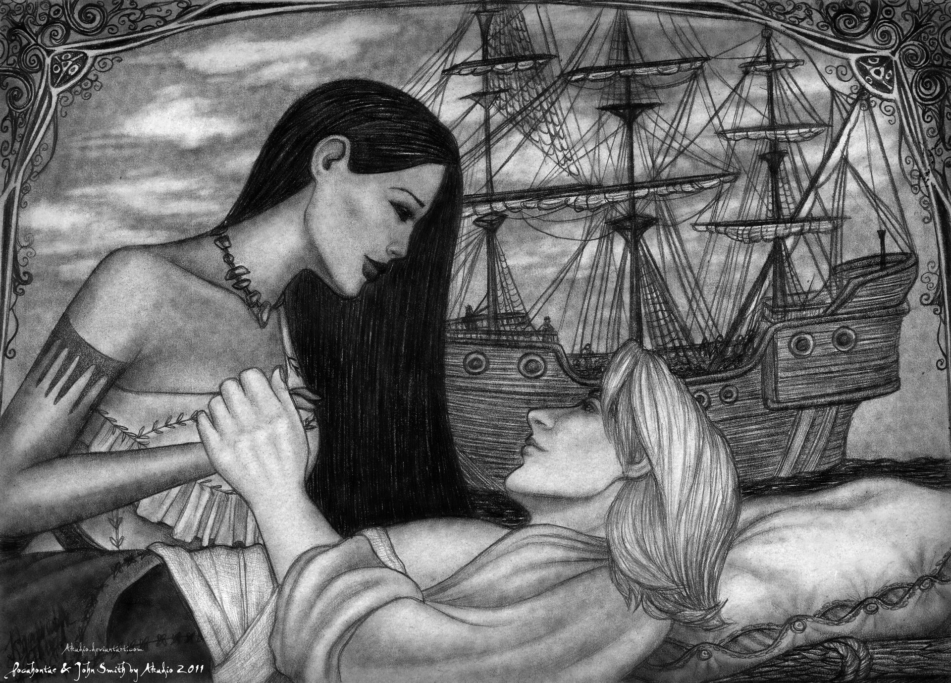 an analysis of the real life and john smiths legend of pocahontas Pocahontas and john smith [1] pocahontas was only a young girl, perhaps twelve years of age, when john smith and other english men were camped out in jamestown, virginia, during the early seventeenth century.