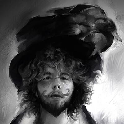 Krystyna nowek the duck man by marikobard d4vixn0