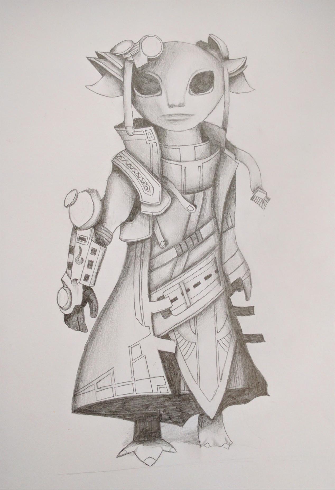 ArtStation - Drawing fantasy creatures, Vincent Halman