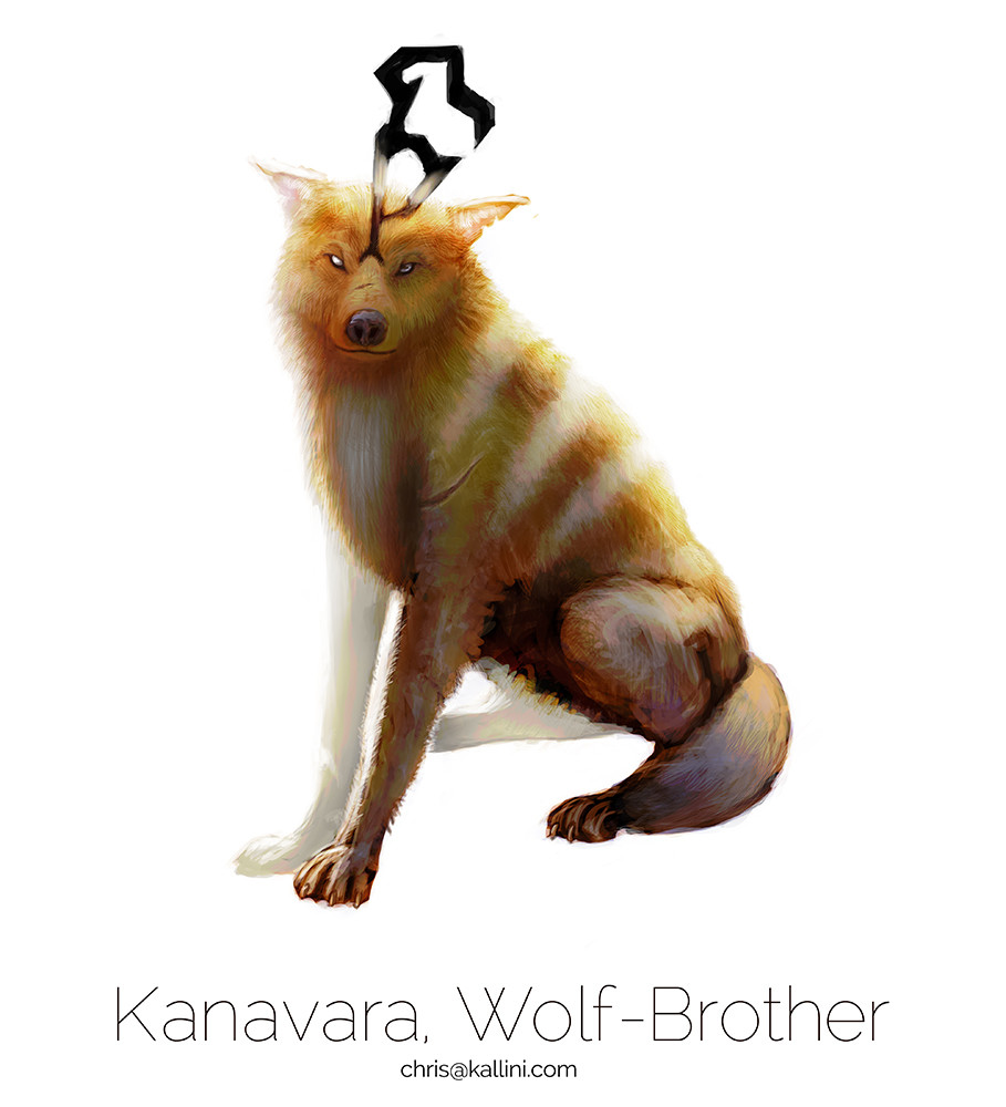 Christopher kallini kallini wolf brother