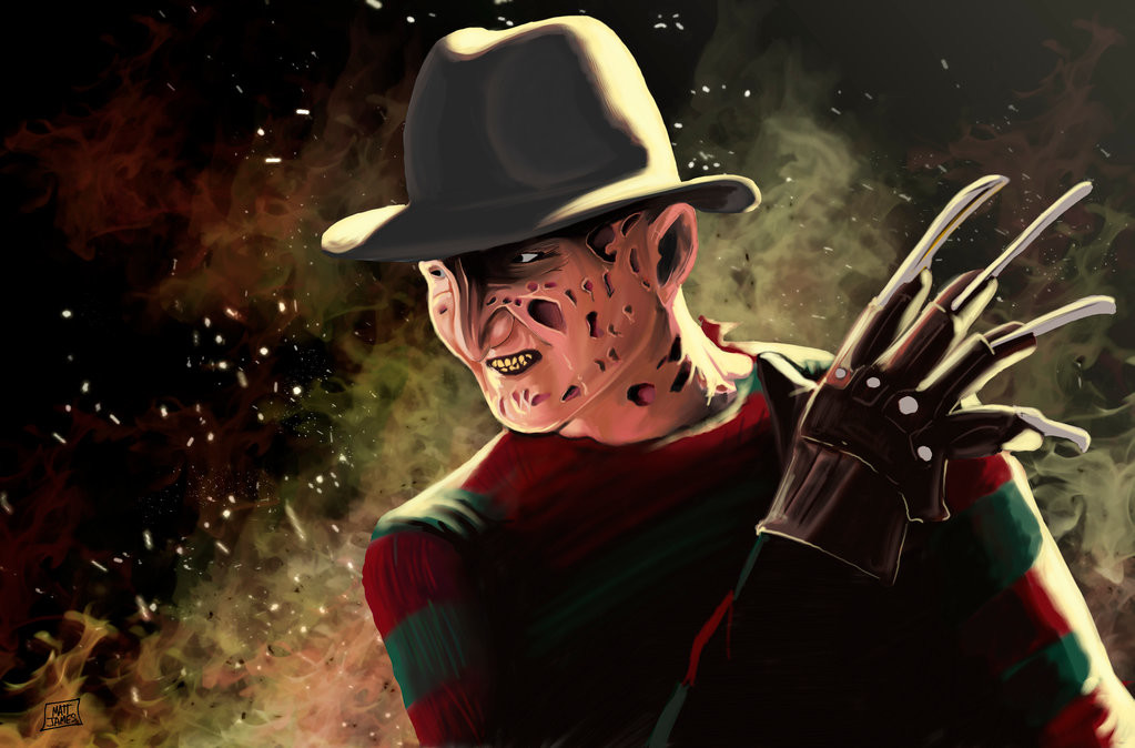Matt james freddy krueger by snakebitartstudio db0exn9