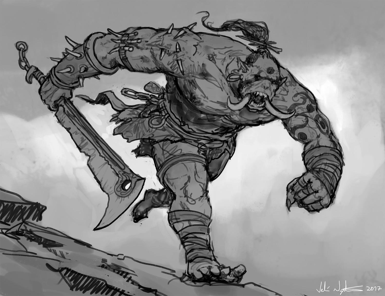 Veli nystrom sketch daily 51
