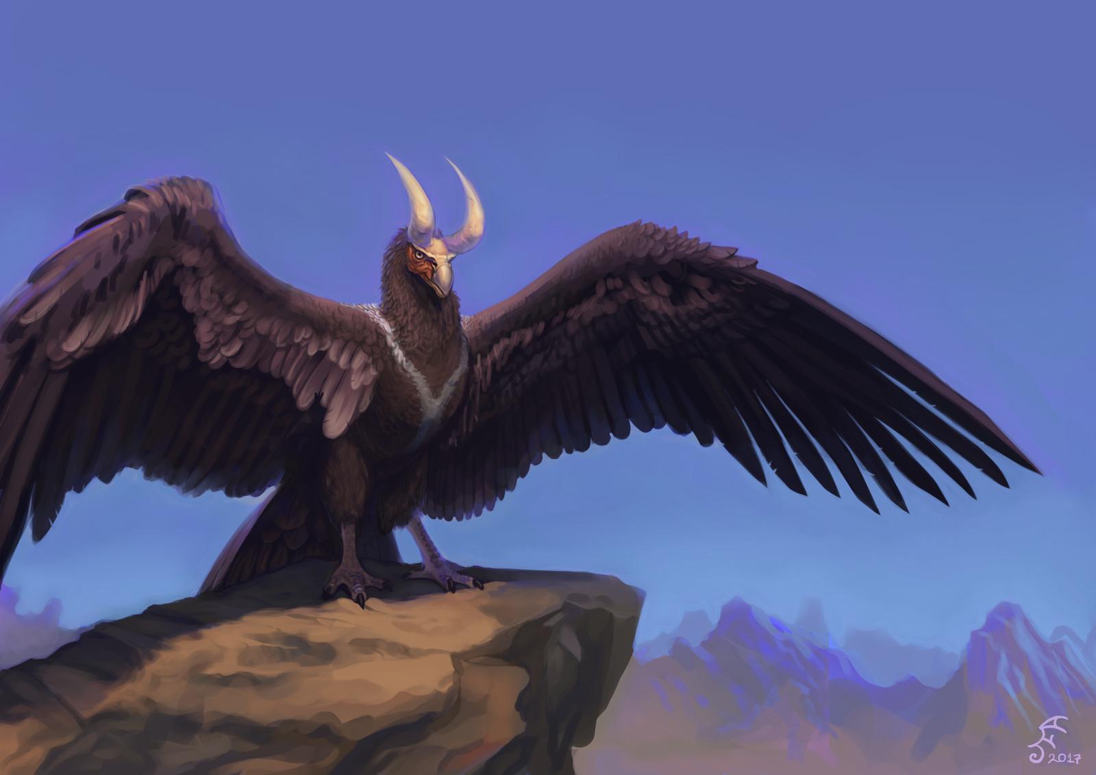 Horned Condor