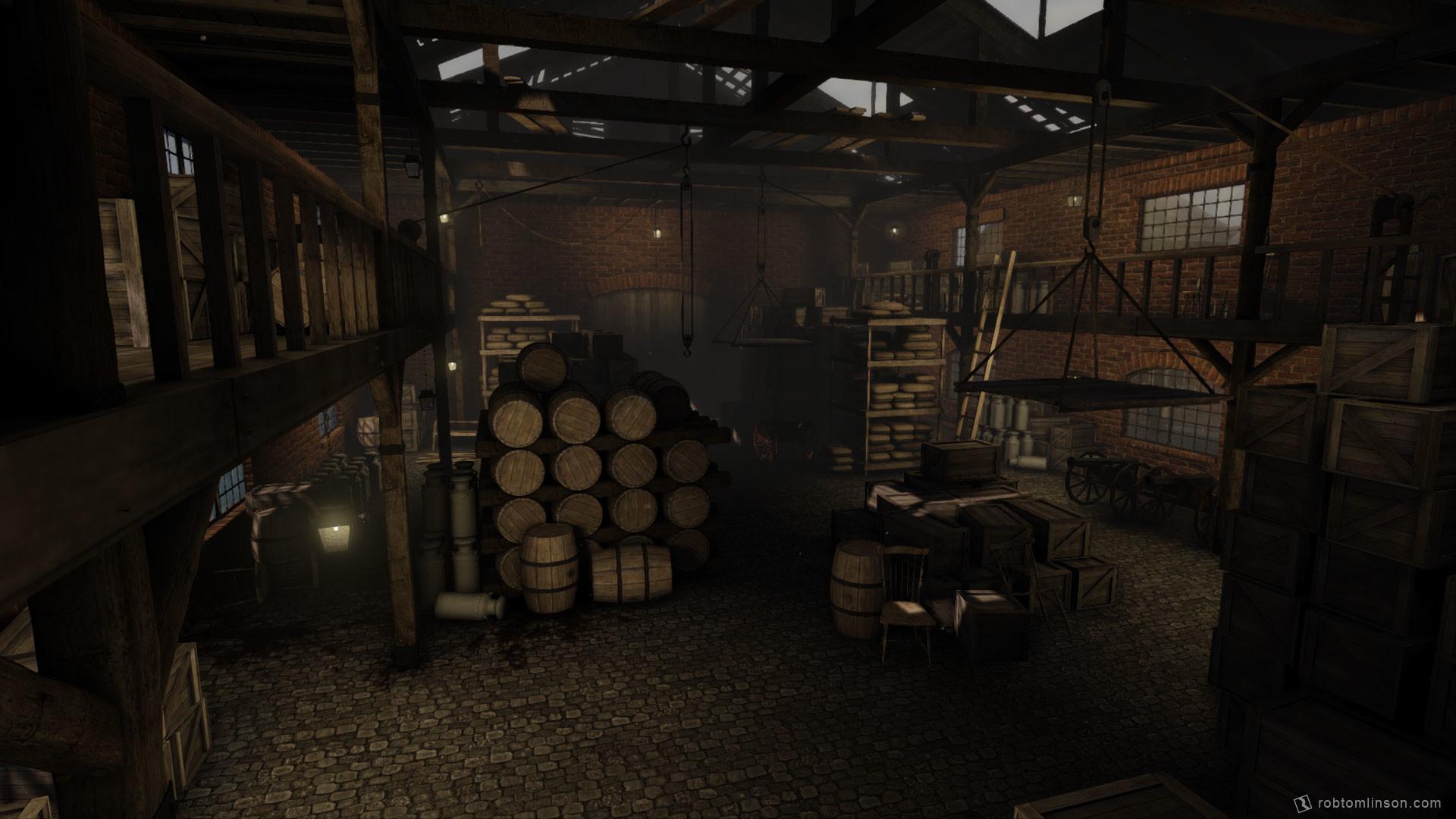 Rob tomlinson warehouse 2