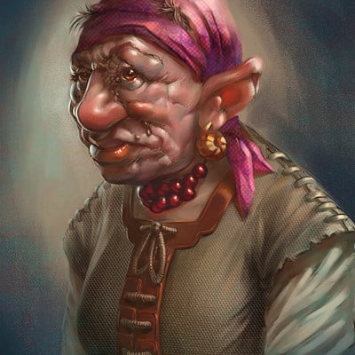 Matej kovacic dwarf grandmother by matej kovacic
