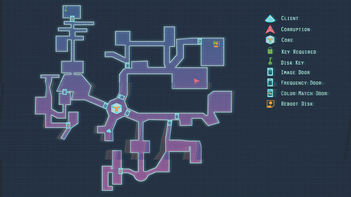 A concept for the map the Director sees  in the command canter inside the Vive.