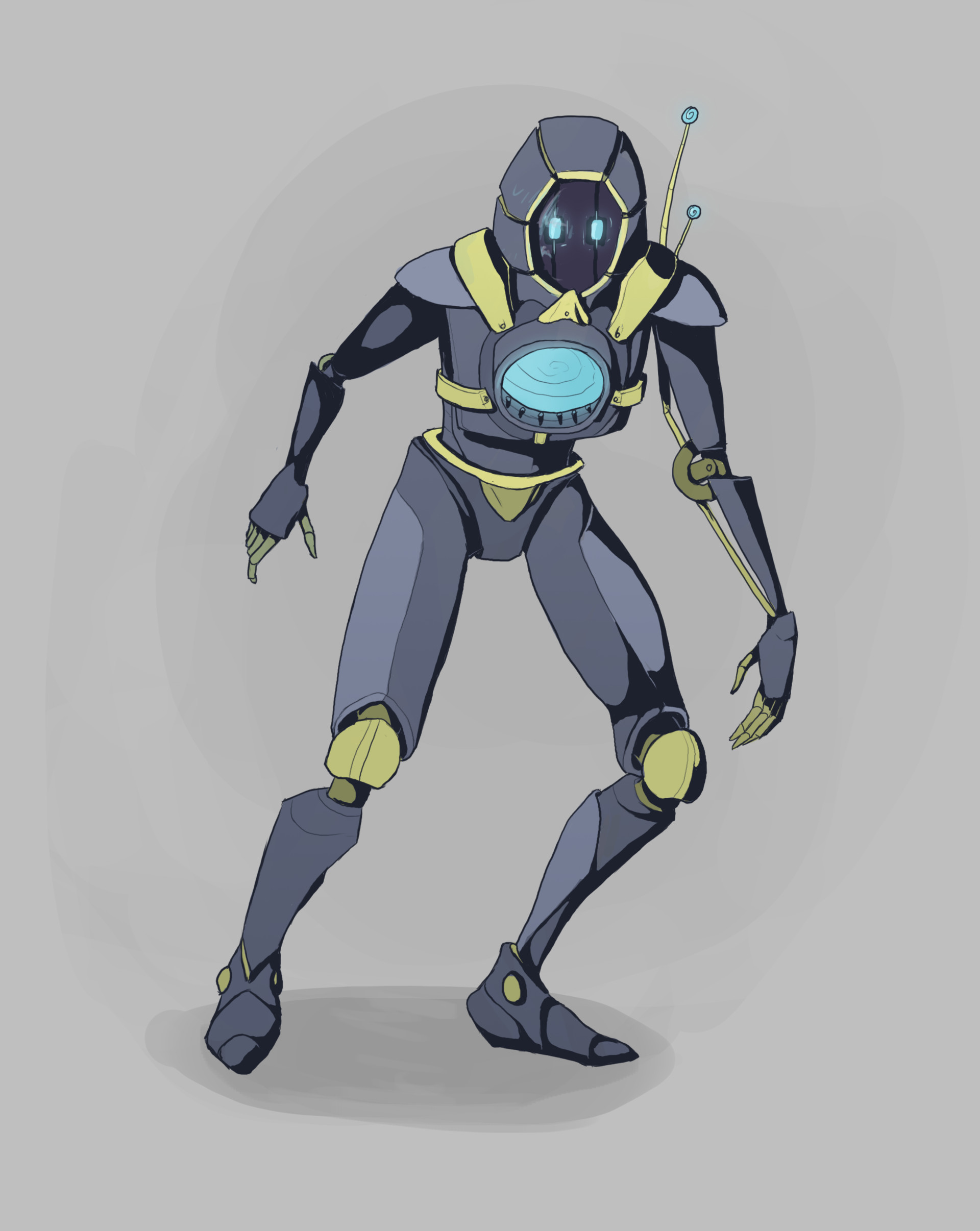 This is the Actor character in the game that is controlled by the player using a mouse and keyboard.