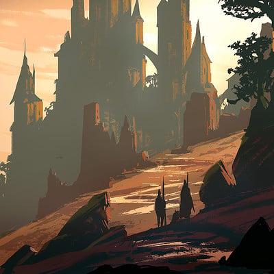 Raphael lacoste castle thing