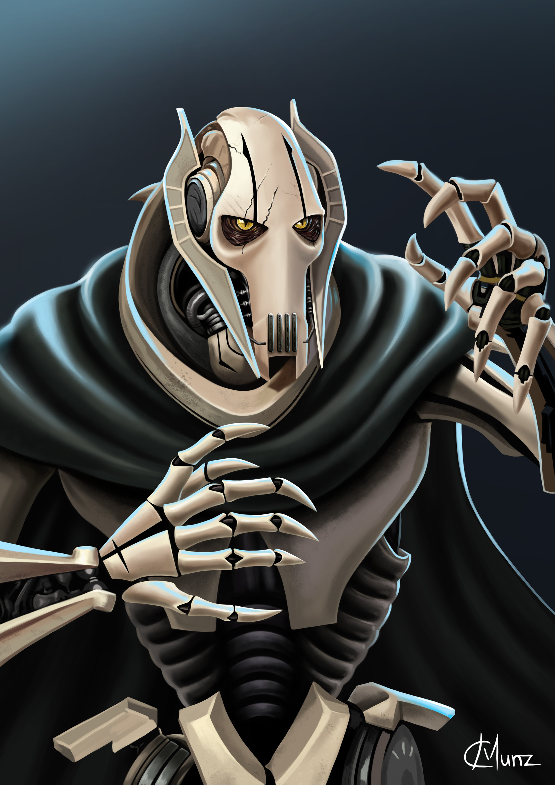 Uncategorized Pictures Of General Grievous artstation general grievous star wars christine munz grievous