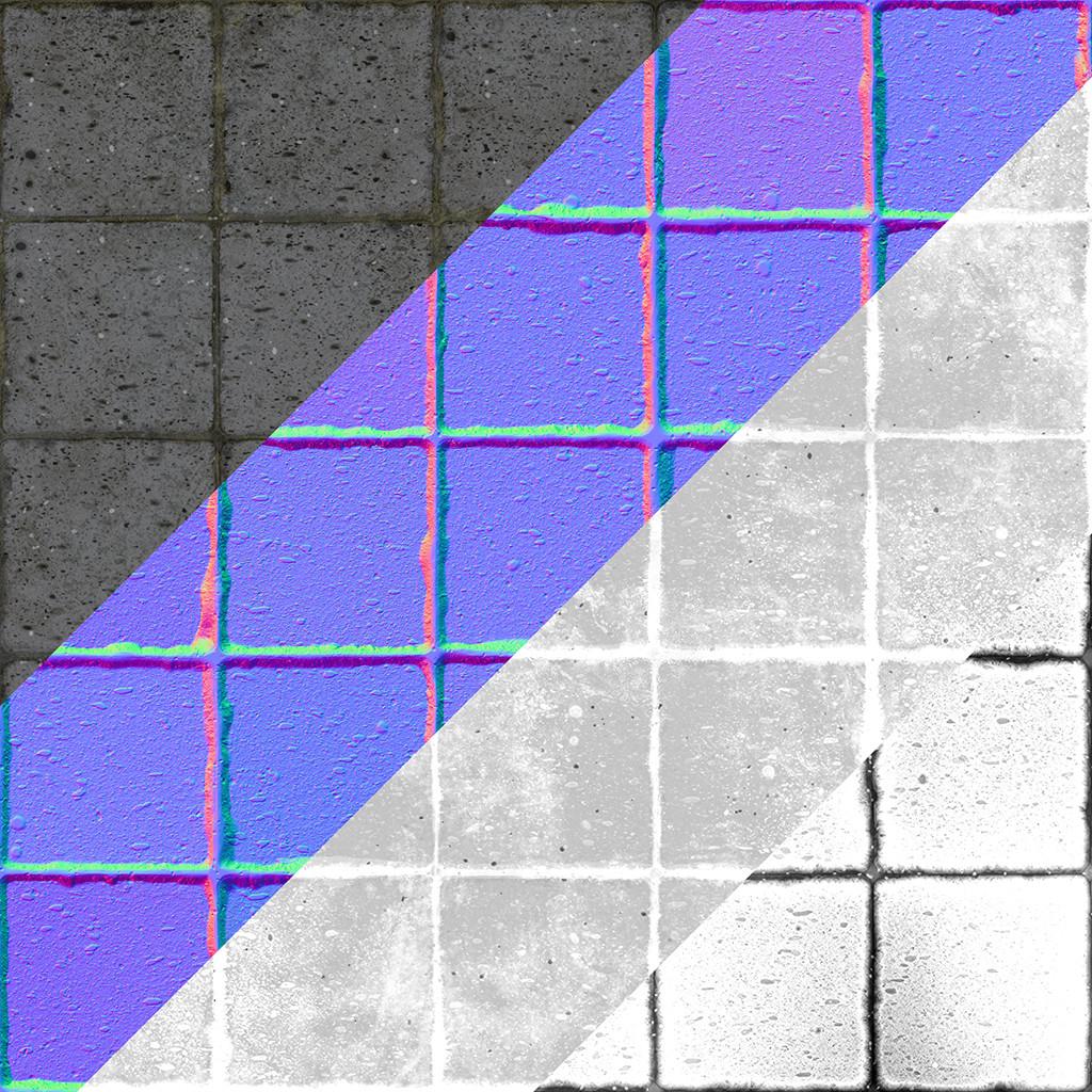 Stevans robert concretetile textures