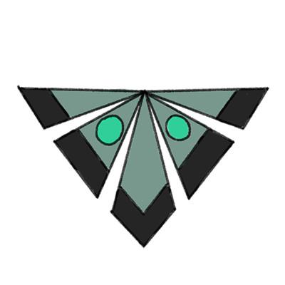 Beth sparks mothman logo