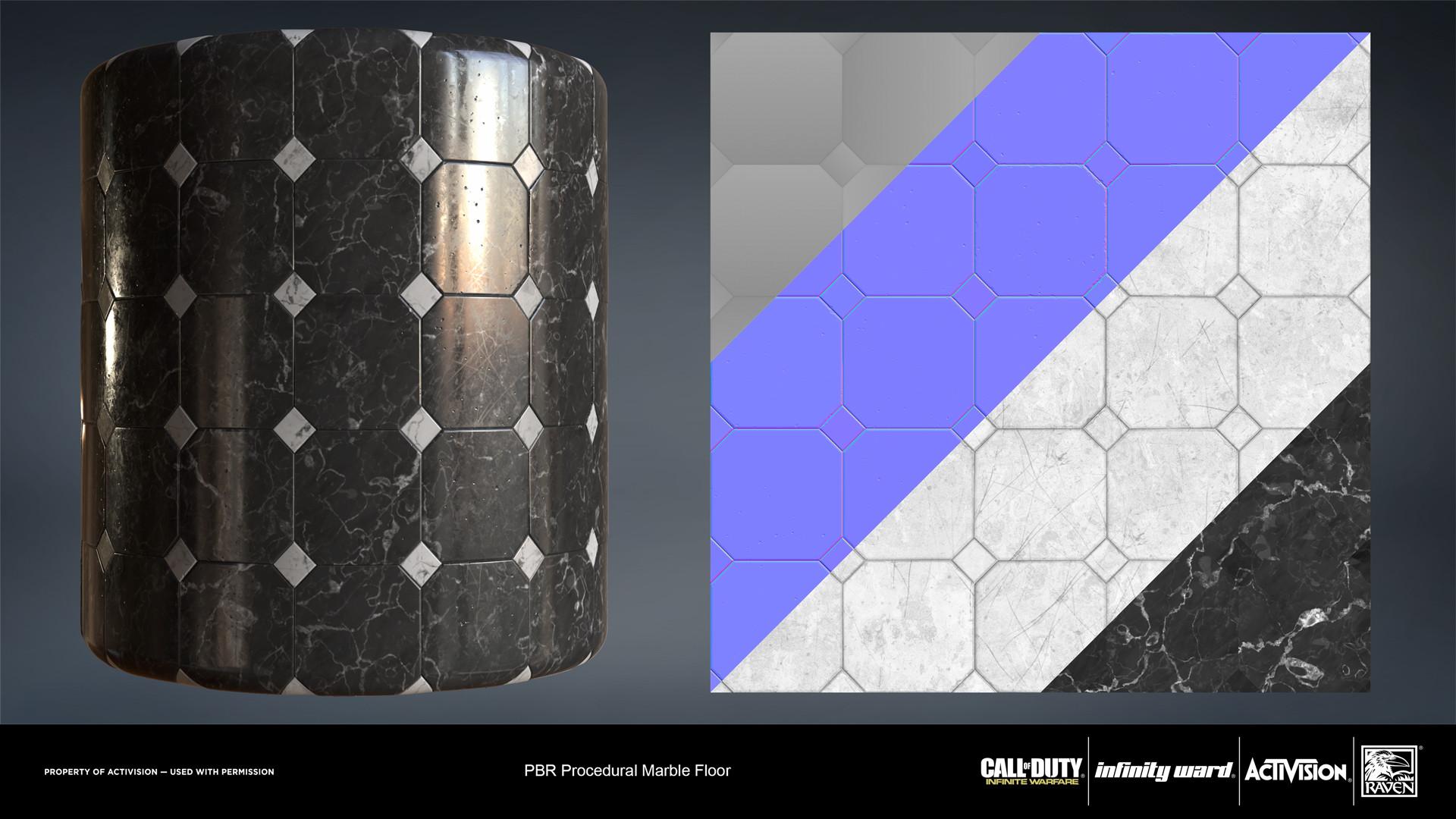 Joshua lynch stone marble floor 01 iw cylinder