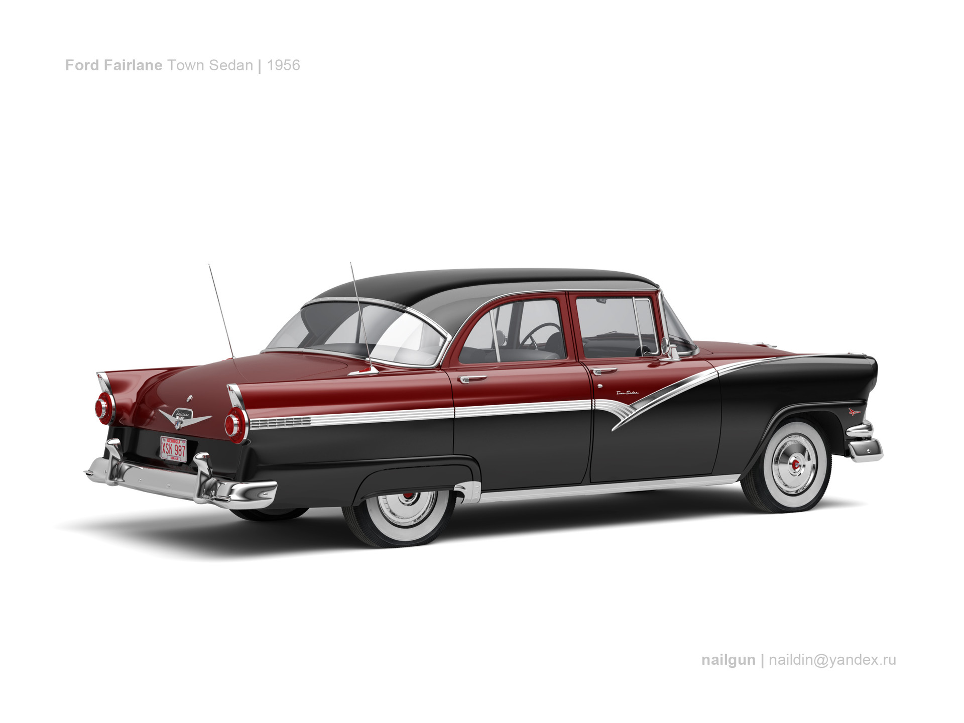 Nail khusnutdinov usa ford fairlane town sedan 56 1