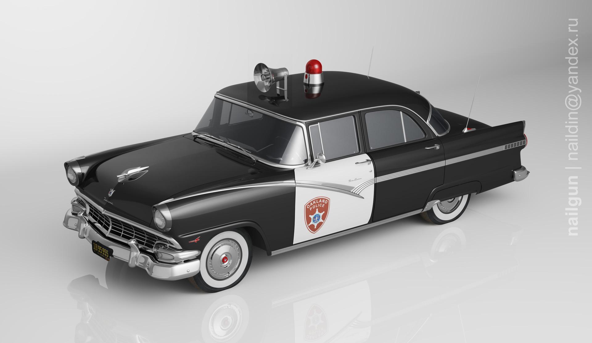 Nail khusnutdinov pwc 001 000 ford fairlane 1956 miniature