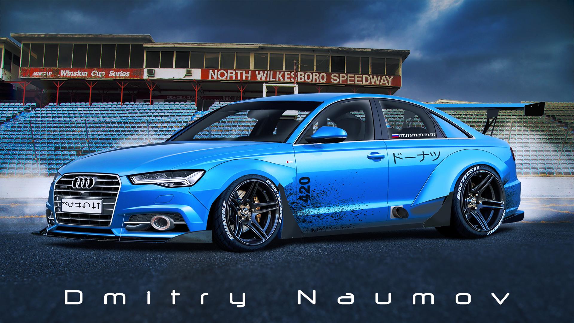 Artstation Audi A6 C7 Dmitry Naumov