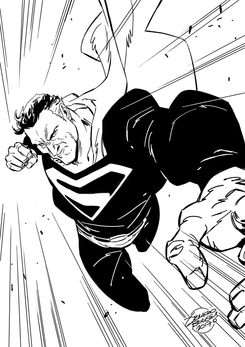 Superman Kingdom Come final piece