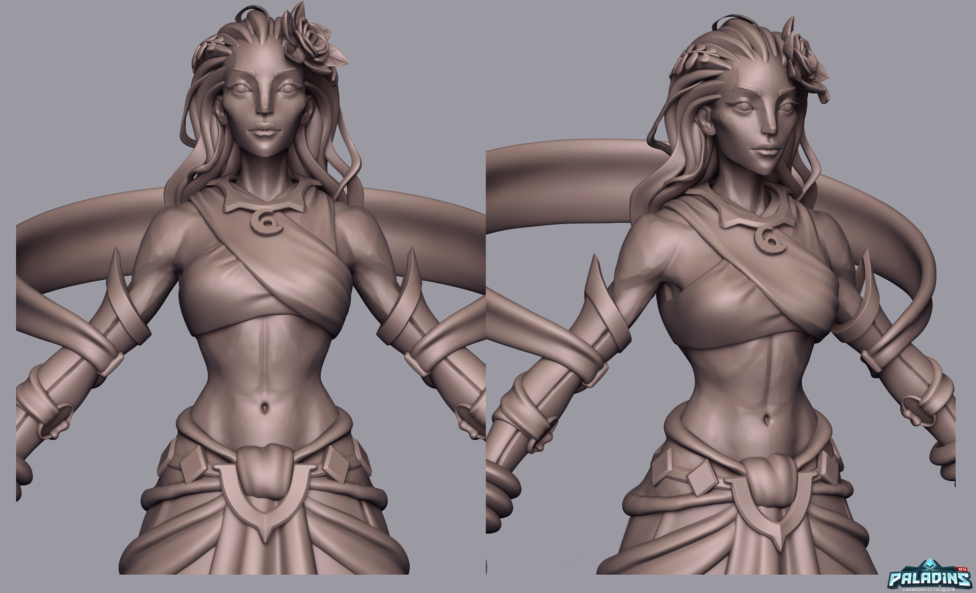 Weston reid inara highpoly 02