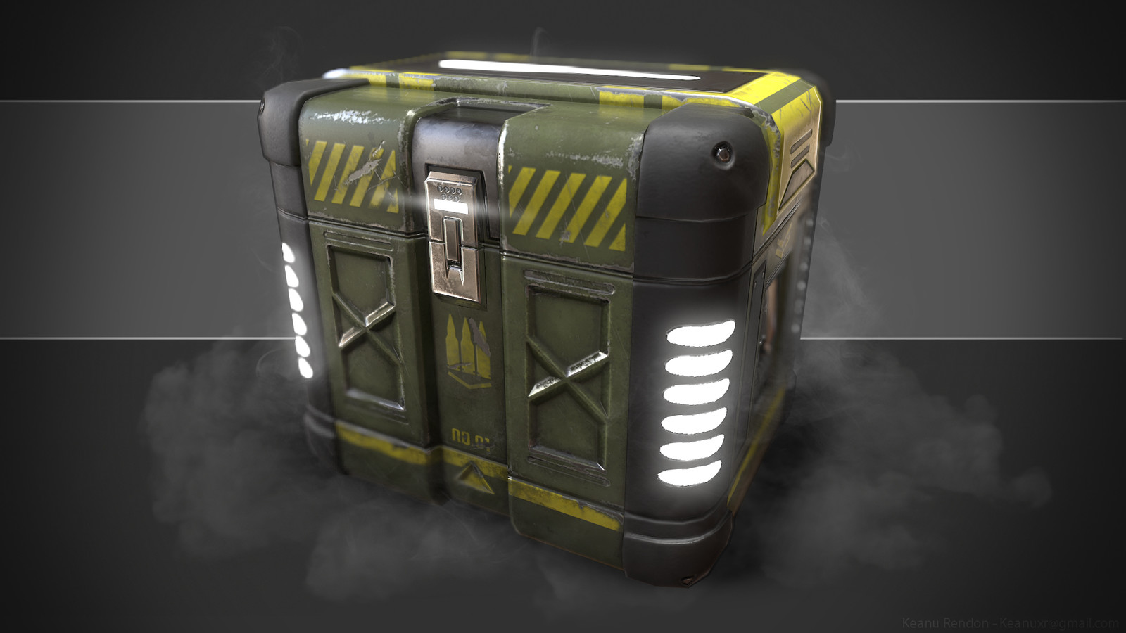 Lowpoly Ammo Crate