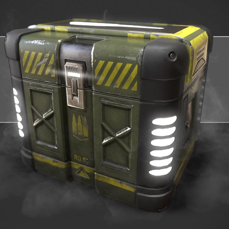 Sci-Fi Ammo Crate