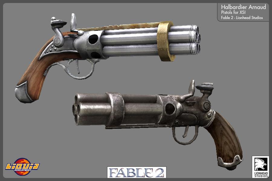 ArtStation - Fable 2 - Xbox 360 - 2008, Arnaud Halbardier