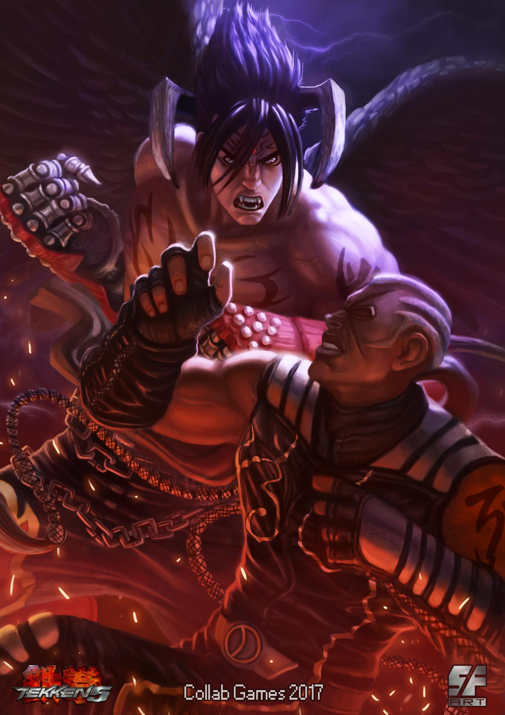ArtStation - Tekken 5 (Fan Art), Stive Ferreira