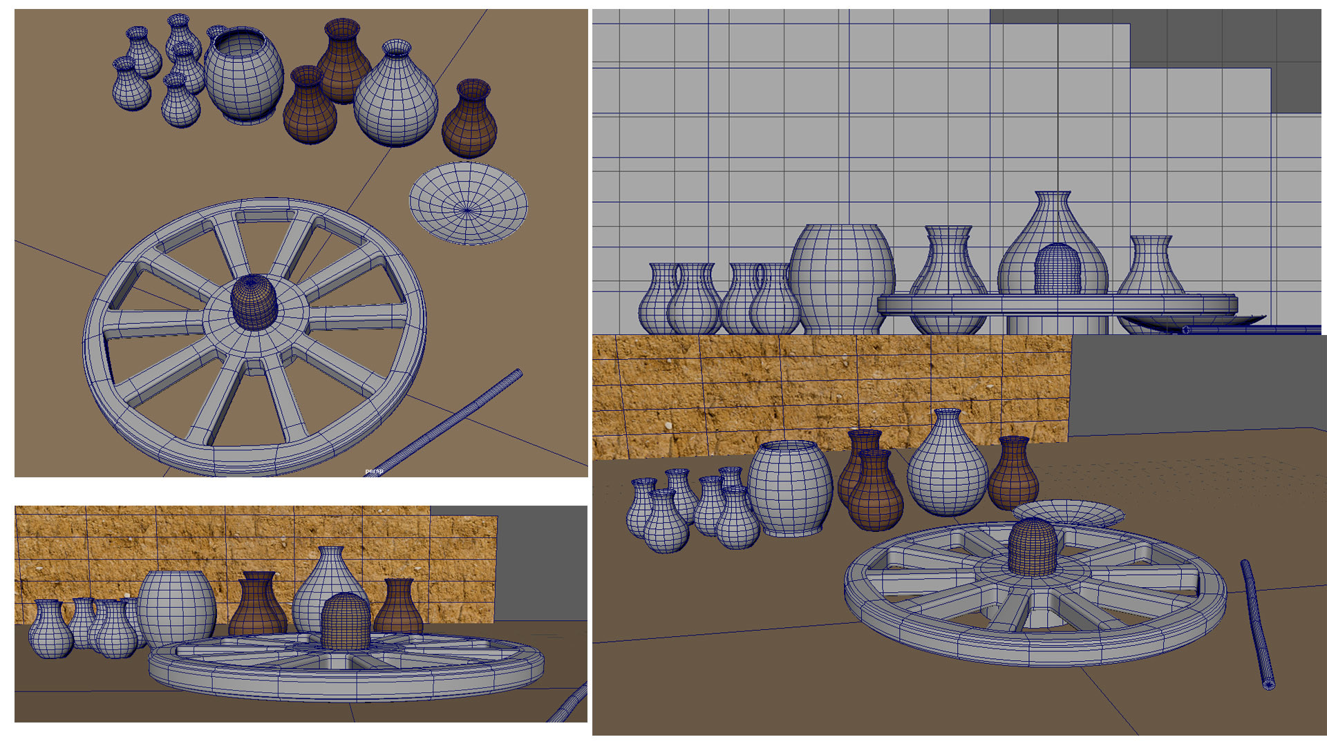 Rajesh sawant potters wheel wireframes