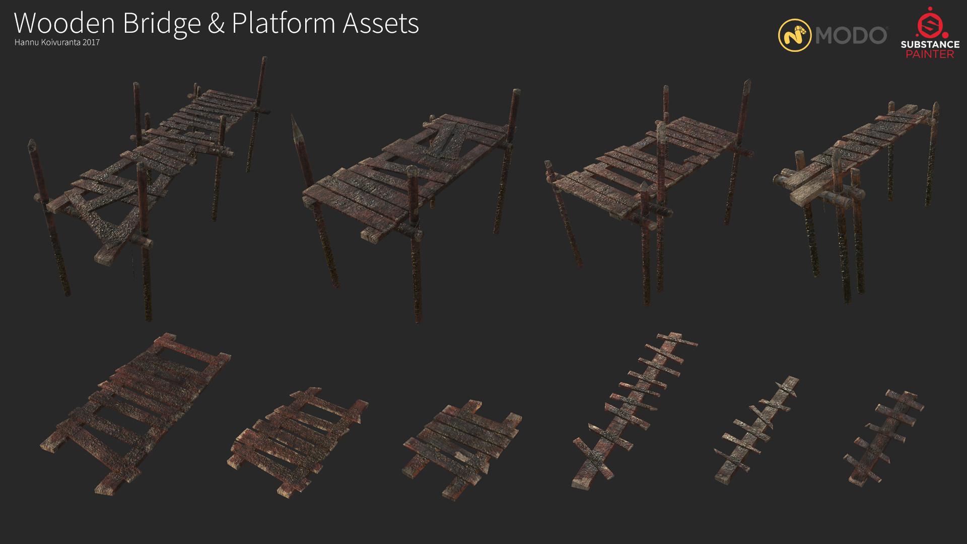 Hannu koivuranta wooden assets breakdown