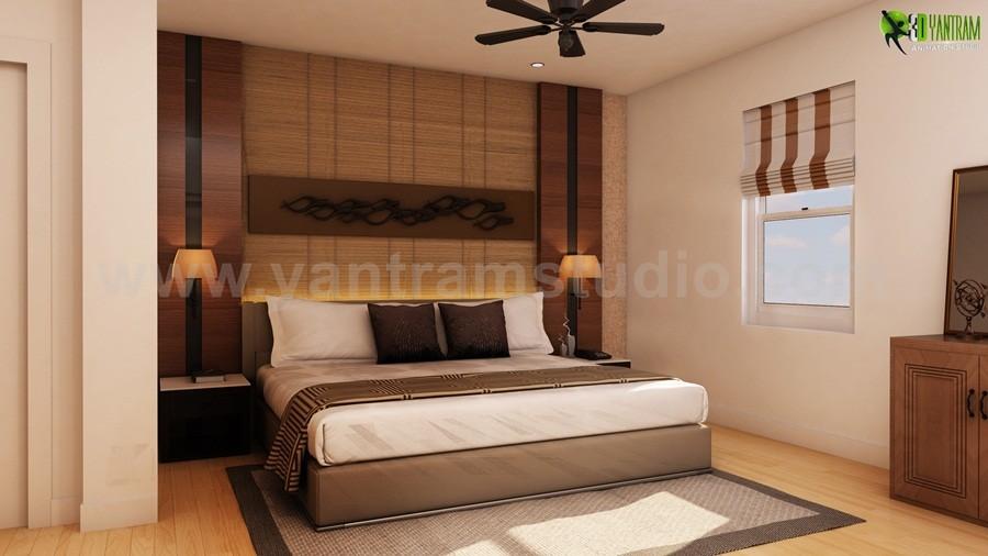 artstation - modern style bedroom interior design firms, yantram