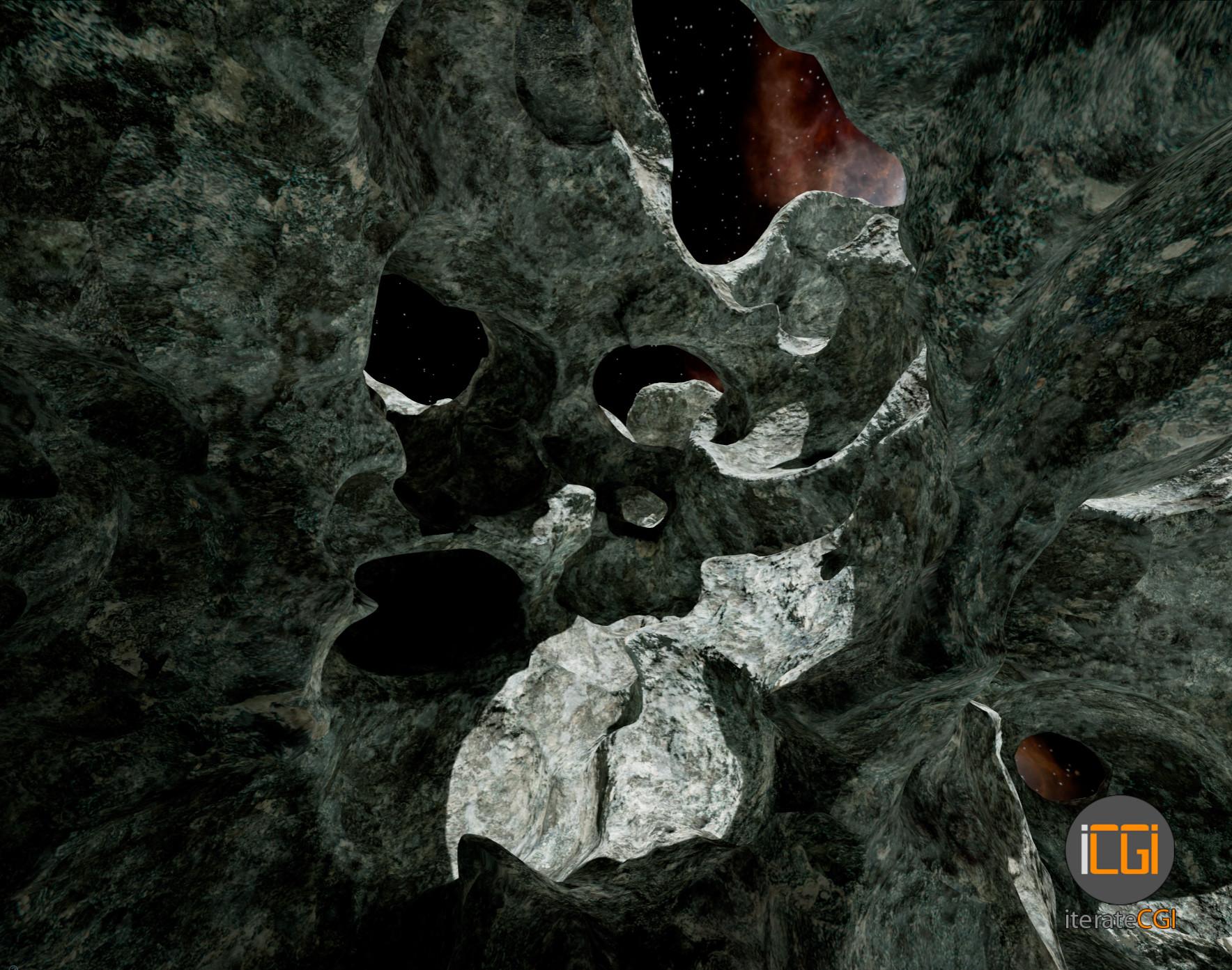 Johan de leenheer 3d asteroid game model 14