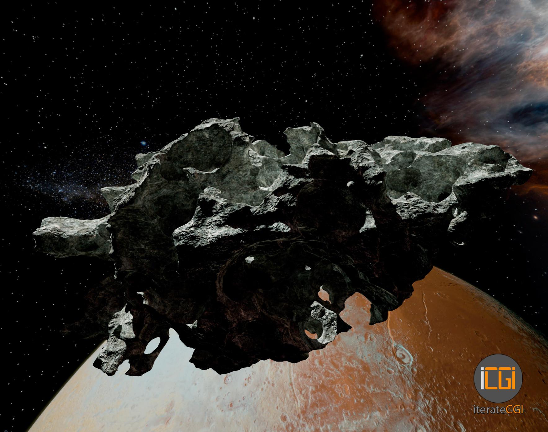 Johan de leenheer 3d asteroid game model 7