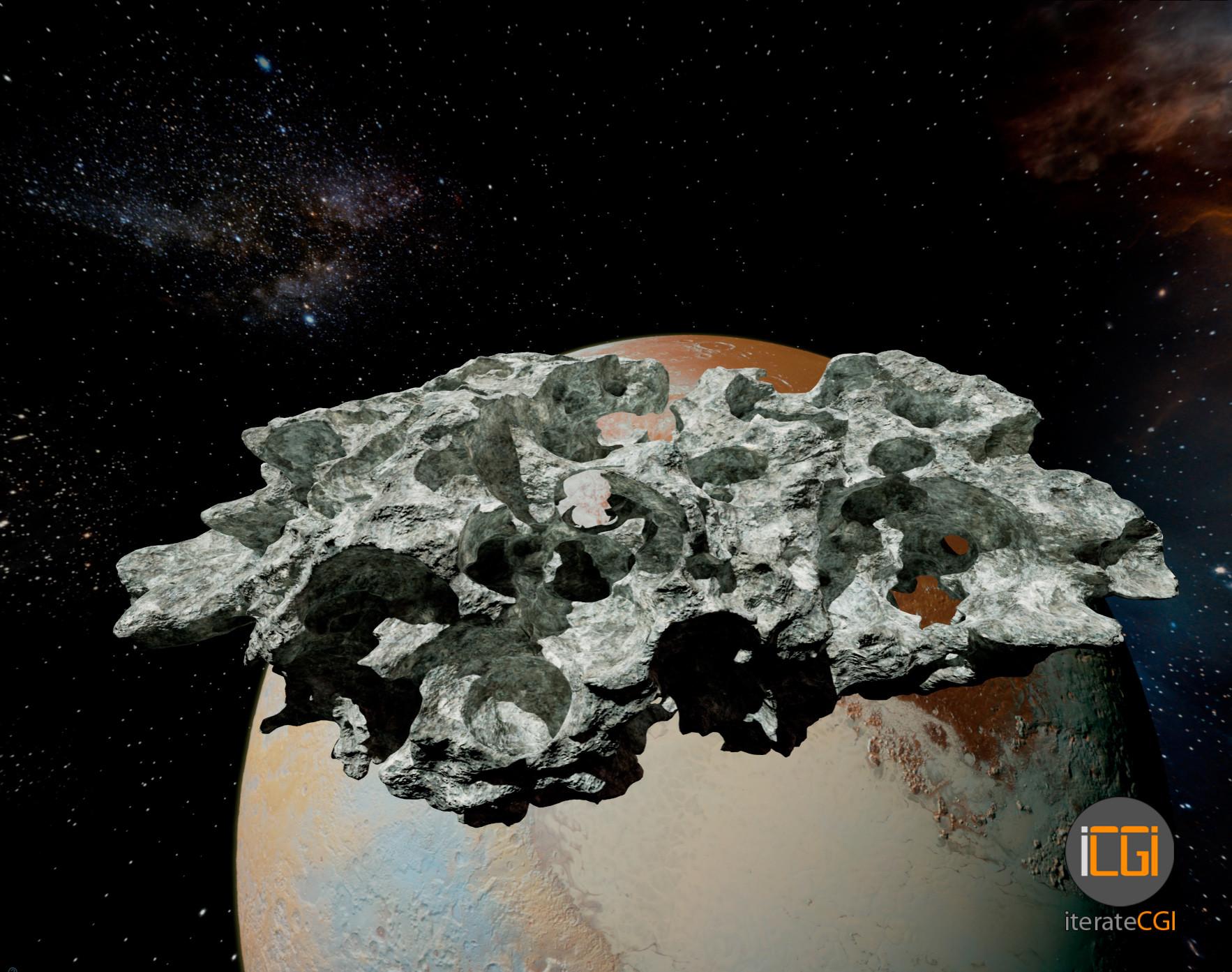 Johan de leenheer 3d asteroid game model 2