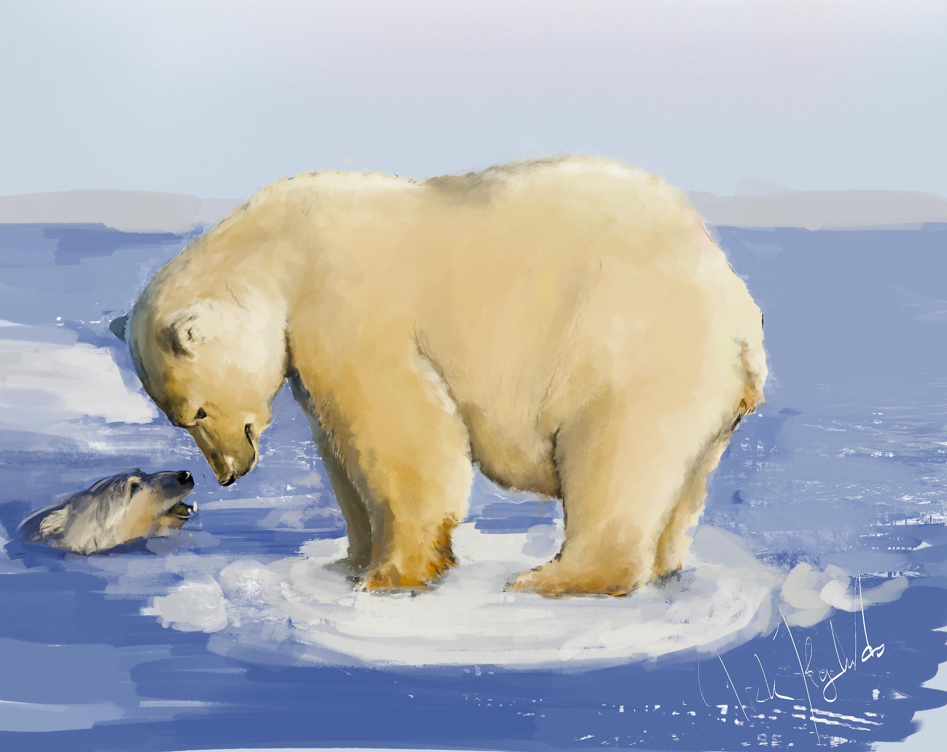 Nicholas hylands polar bear3