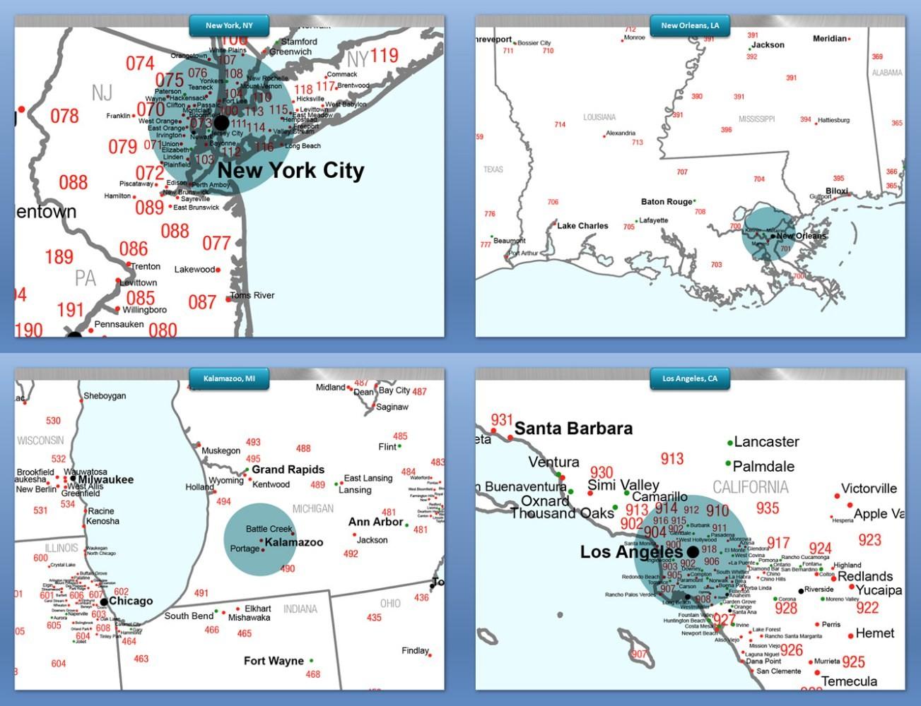 Map Database