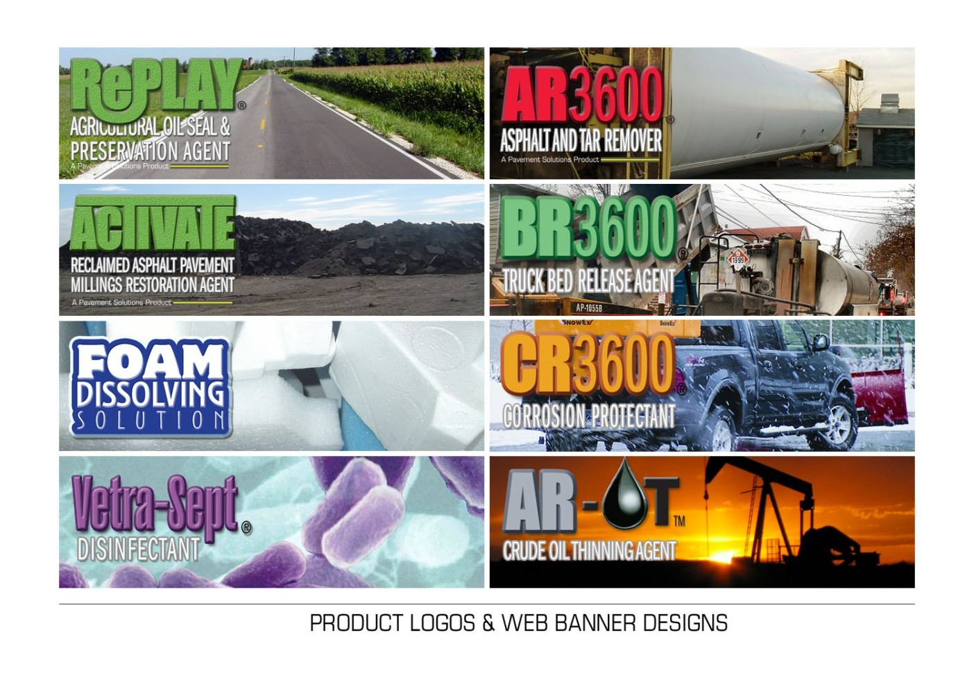 Web graphics and logos.