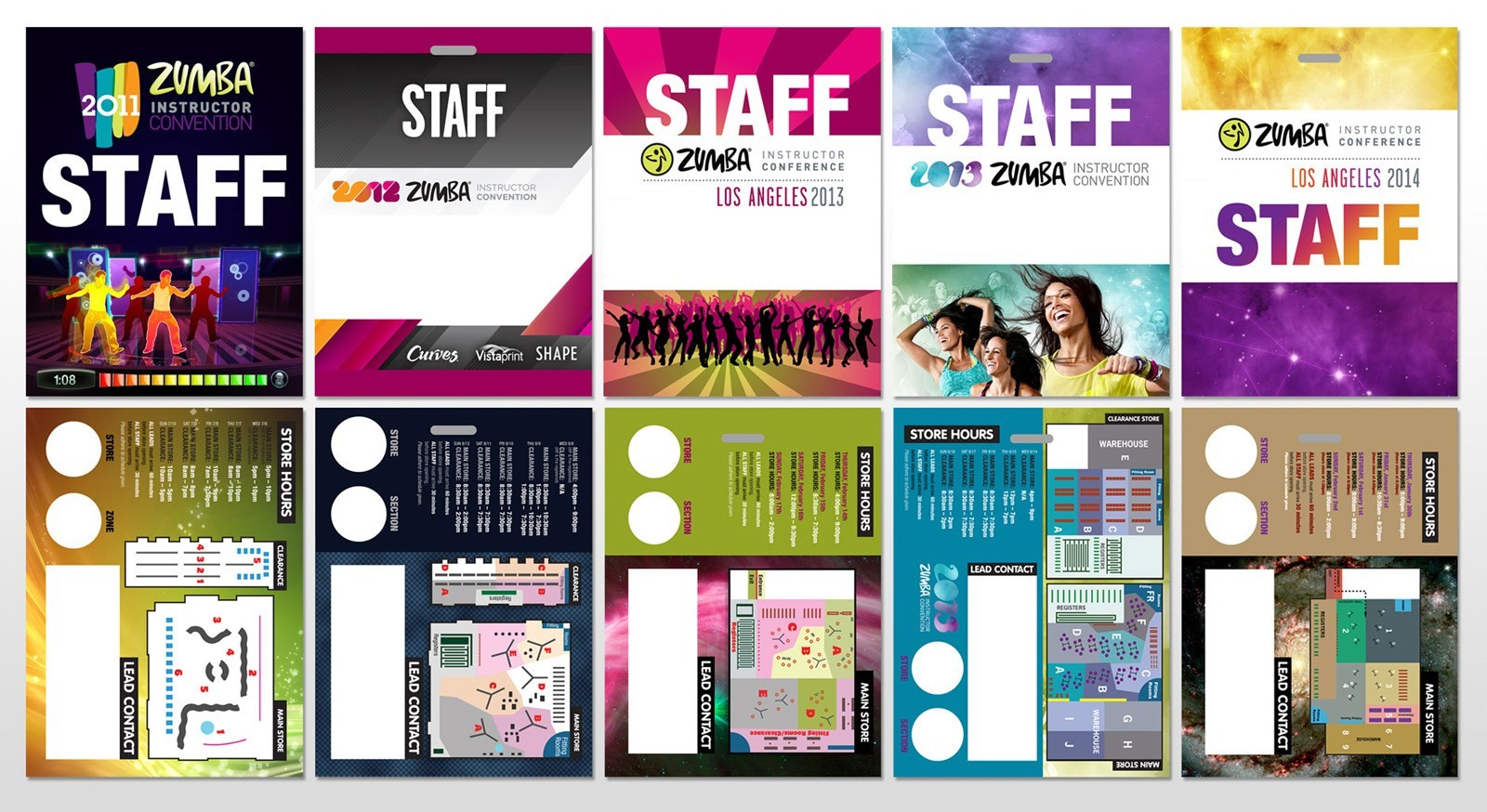 Staff badges