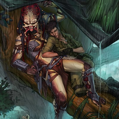 Lurelin art deep in the jungle by lurelin damfwbn