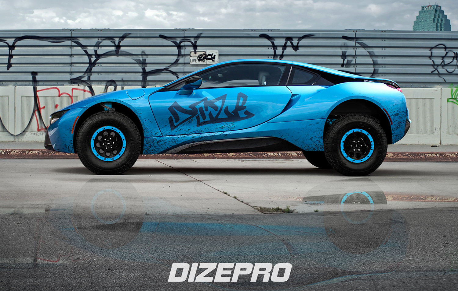 Dmitry Strukov Bmw I8 Off Road Kit
