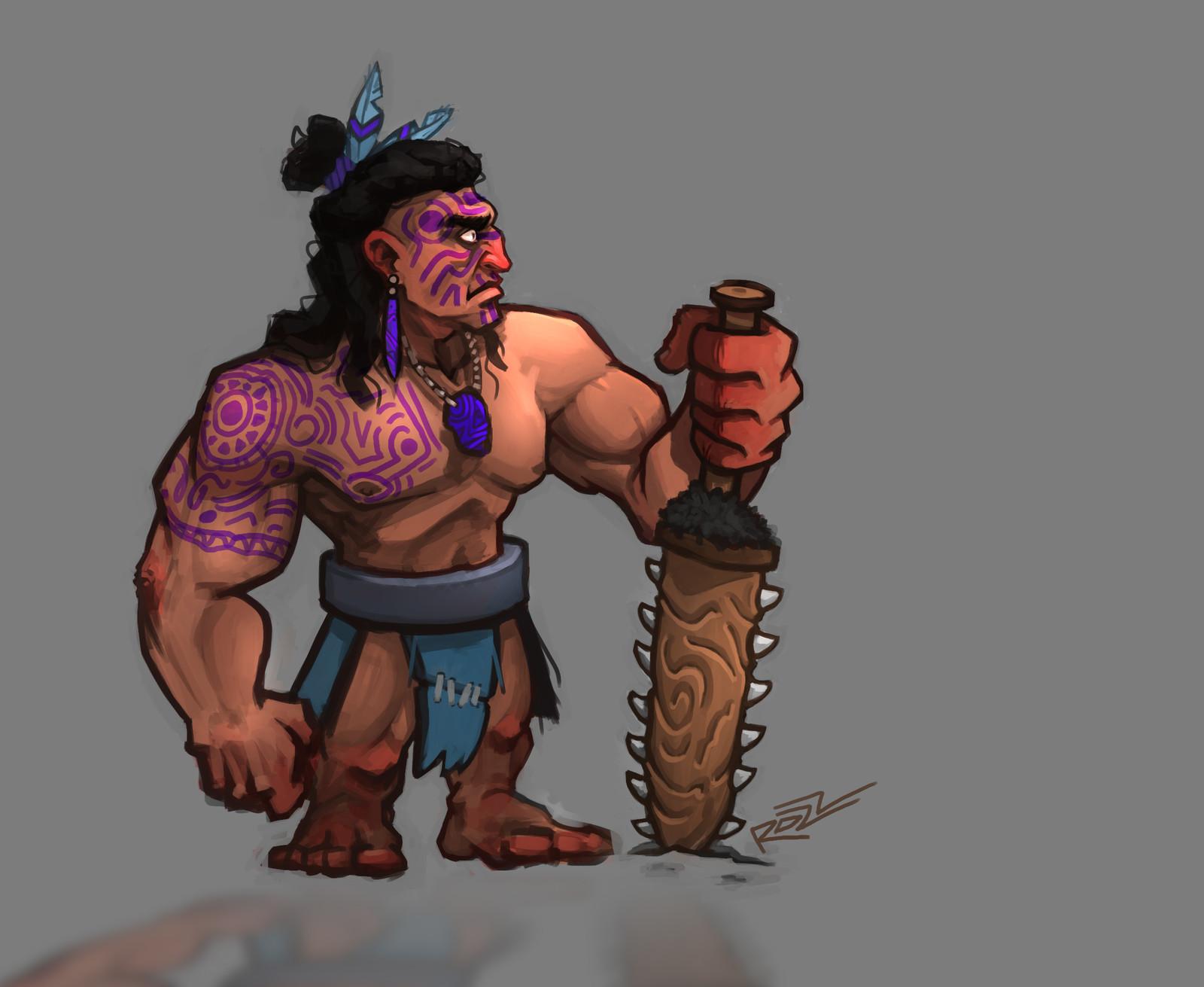 CDC - Maori Warrior